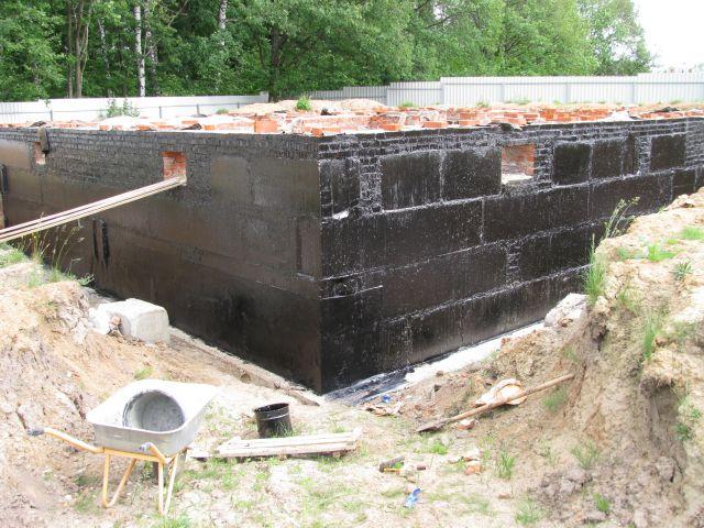 Postupná výstavba suterénu